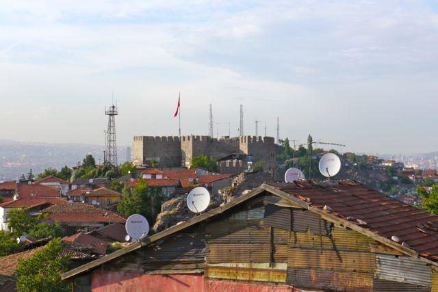 de burcht van Ankara