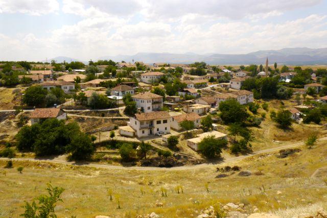 Een dorpje zoals we ze veel hebben gezien in Turkije