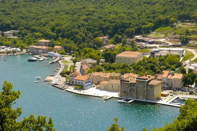 Aan de kust van Kroatië