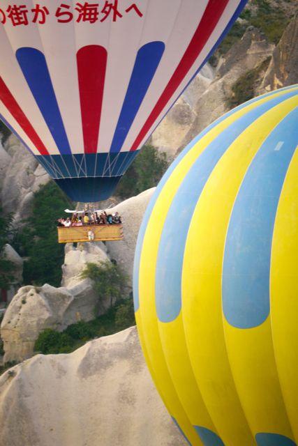 Overal waar we kijken zijn ballonnen