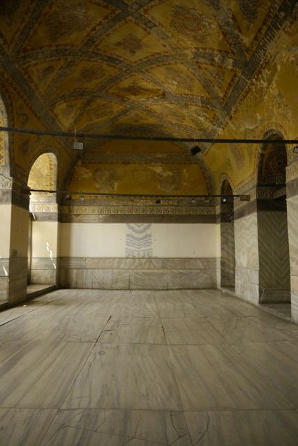 In de Hagia Sofia
