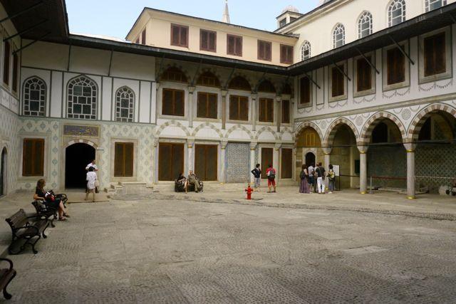 pleinje in de harem van het Topkapi paleis