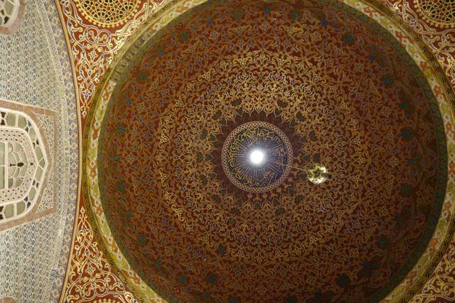 koepel in de slaapkamer van de sultan