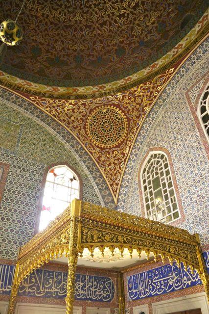 Slaapkamer van de sultan
