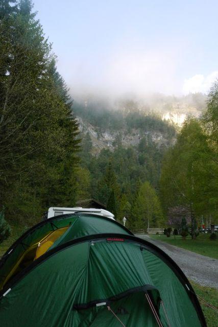 Camping bij de Fernpaß