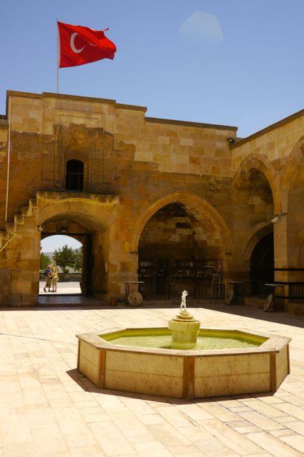 binnenplaats met fontein