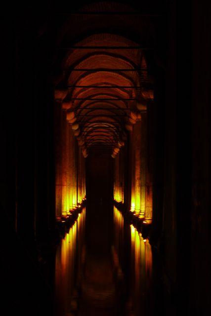 In de cisterne