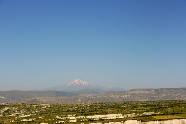 de vulkaan bij Kayseri