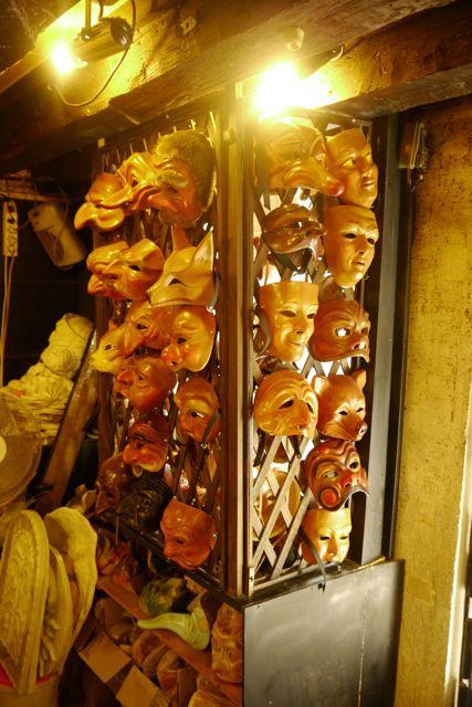 Autentieke Venitiaanse maskers
