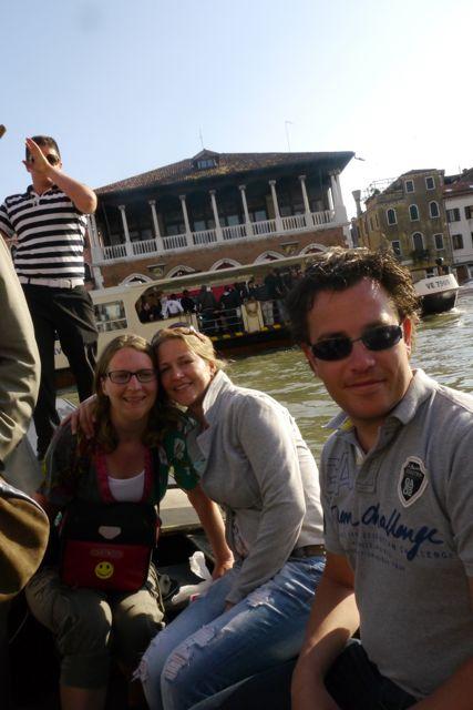 Met Sanne en Jasper in de Traghetto
