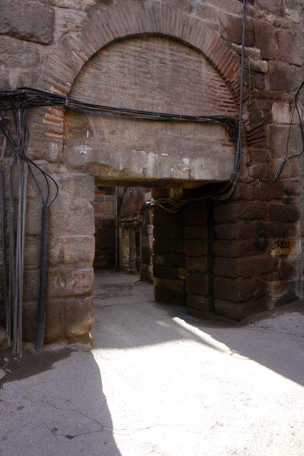 toegangspoort van de Kale (burcht) Ankara