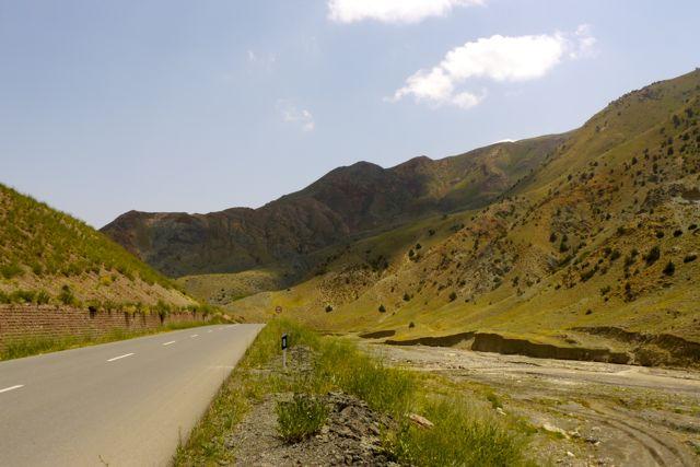 Een spectaculaire afdaling bij de Turks Iraanse grens