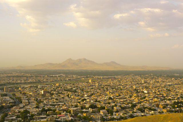 Urmia is best een grote stad.