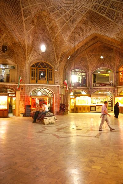 de bazar in Tabriz
