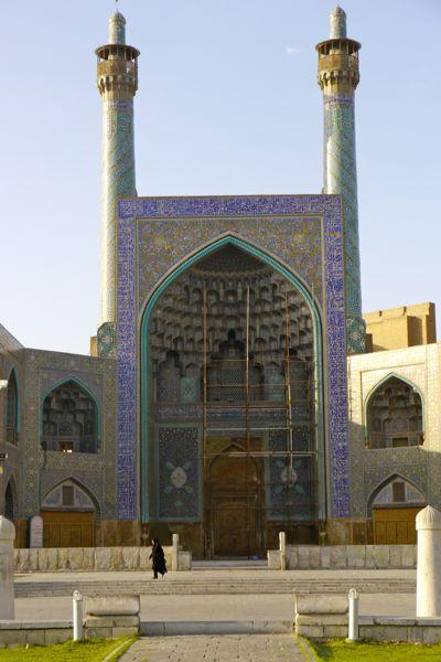 We zijn in Esfahan.