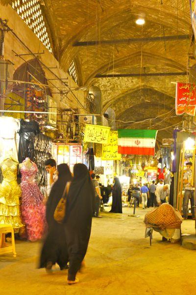 Indruk van de bazar