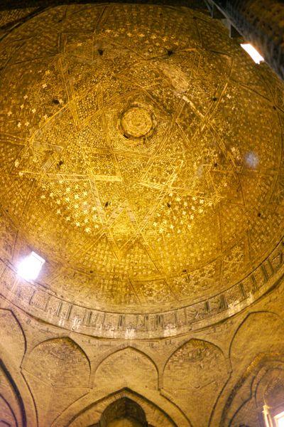 De oudste koepel in de Jameh moskee
