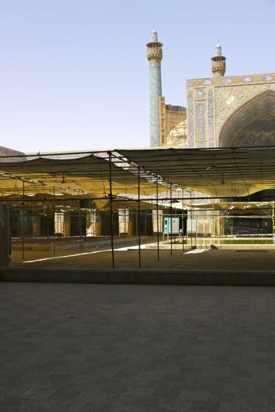 Moskee bij het Imam plein.