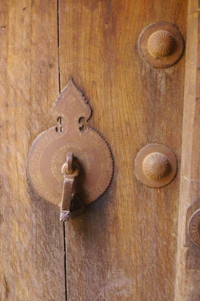 deurklopper voor mannen.