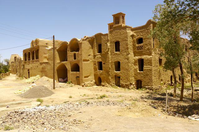 Een oud dorpje.