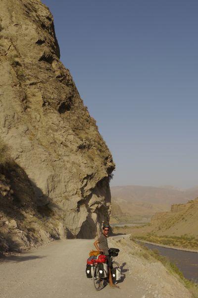 Richting de eerste pas van de Pamir