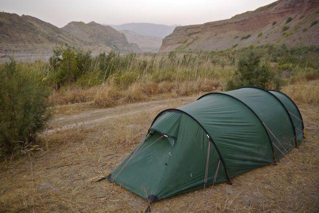 De kampeerplekjes worden mooier en mooier