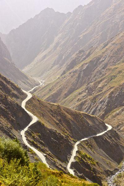 Groot landschap zonder fietsertjes