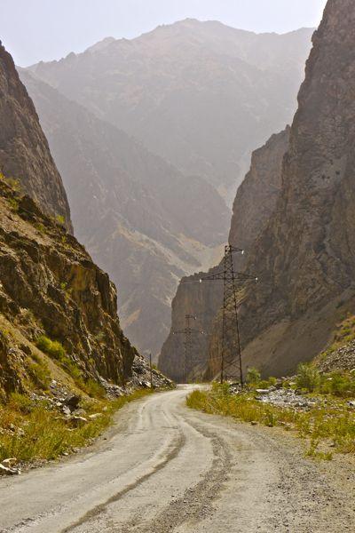 Ja, we zijn nu echt in de Pamir aangekomen