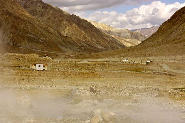 Jelandy; het kuuroord aan de Pamir Highway