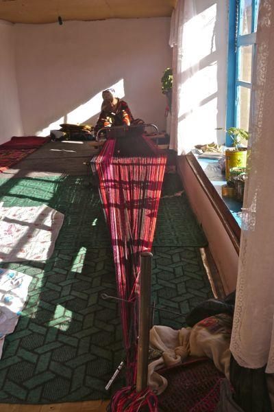 Net zo als in Tilburg is het huis op maat van het weefgetouw gemaakt