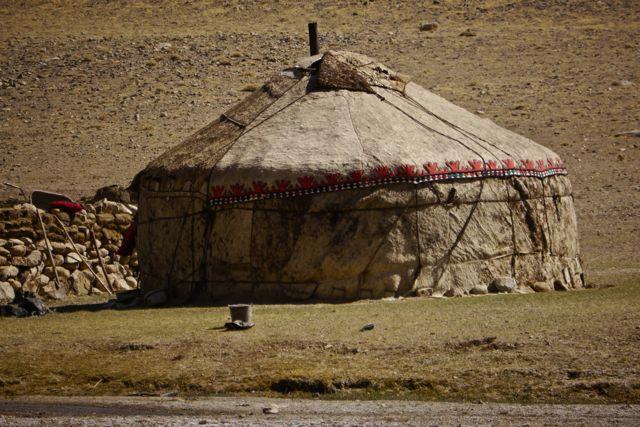 En een yurt