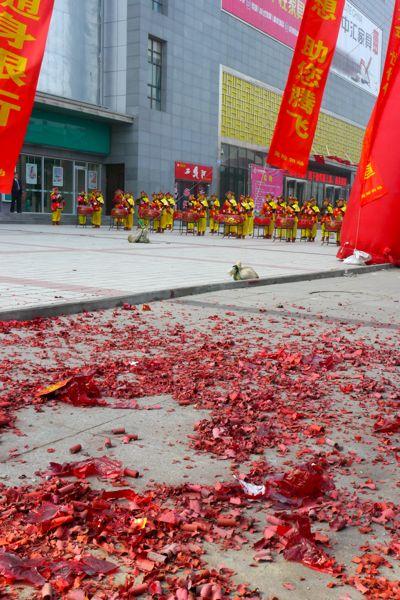 In China is er altijd een goede reden om lawaai te maken.