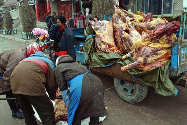 Maar aanbod was er genoeg in Xiahe