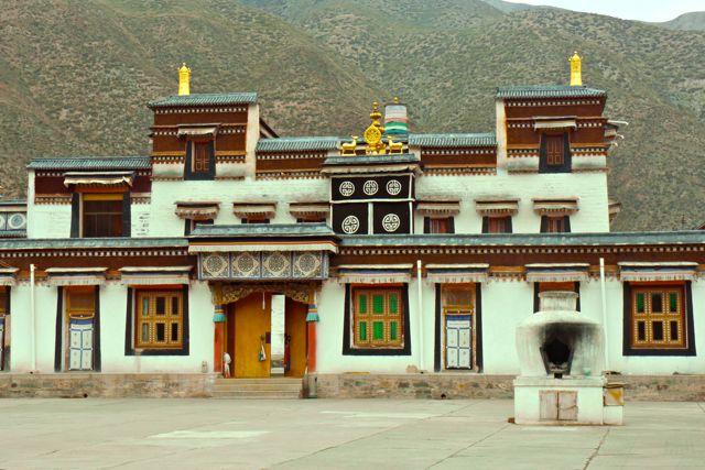 Een van de kloosters binnen het complex