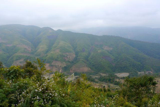 Line klimt nog steeds niet heel graag maar dit soort landschappen maken het allemaal goed...