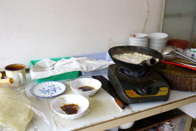 En zo de keuken.
