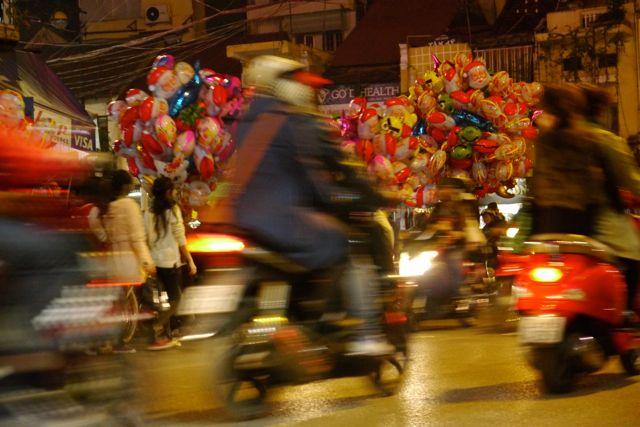 Kerstavond in Hanoi