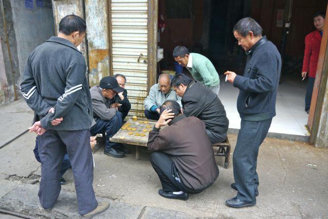 Chinezen houden wel van een spelletje, zeker als je om geld kan spelen.