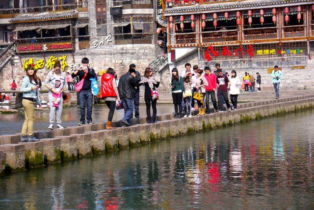 Fenghuang; een van de toeristische bestemmingen van Chinezen voor Chinezen.