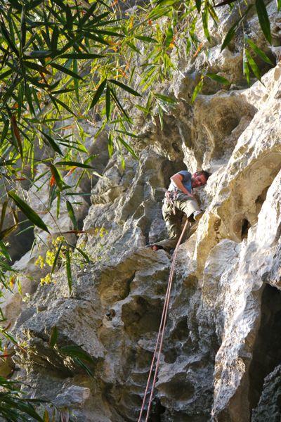 En laat Jonathan nu toevallig kunnen klimmen; samen met hem en Cynthia gaan we dat dus een dagje doen!