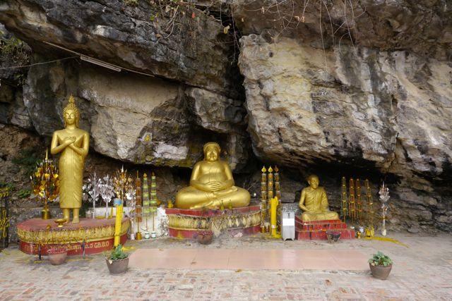 Een van de tempelcomplexen in Luang Prabang.