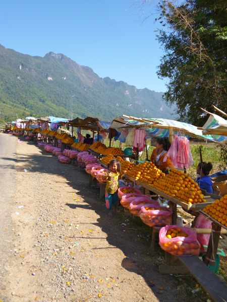 De fruitmarkt; asianstyle