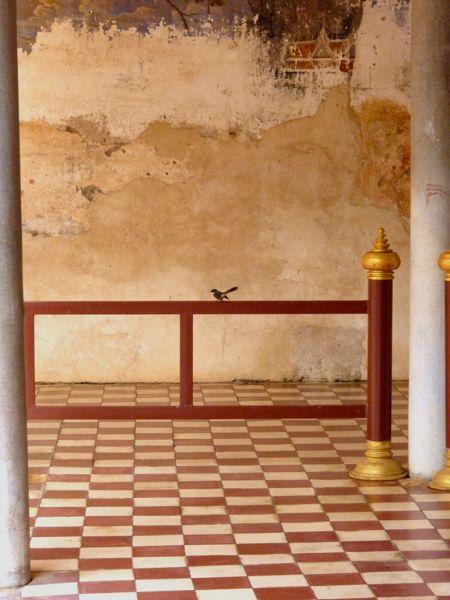 Ook nog binnen de muren van het paleis.