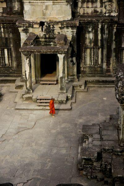 Een van de binnenplaatsen van het complex