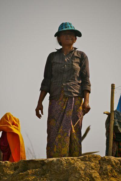 Cambodjaanse vrouw.