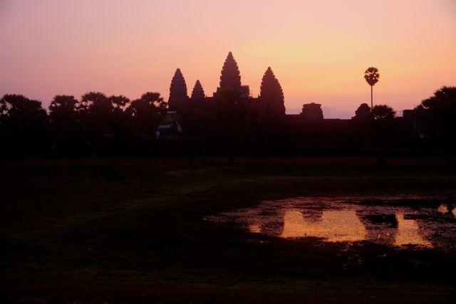 Angkor Wat; het grootste tempelcomplex.