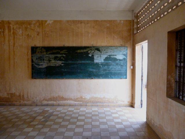 Voordat Tuol Sleng door de Rode Khmer tot Security Prison werd omgevormd was het een school.